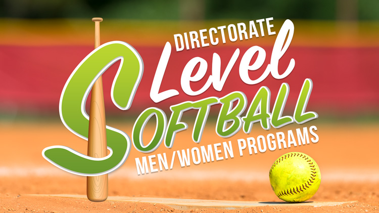 Registration: 2019 Directorate-Level Softball