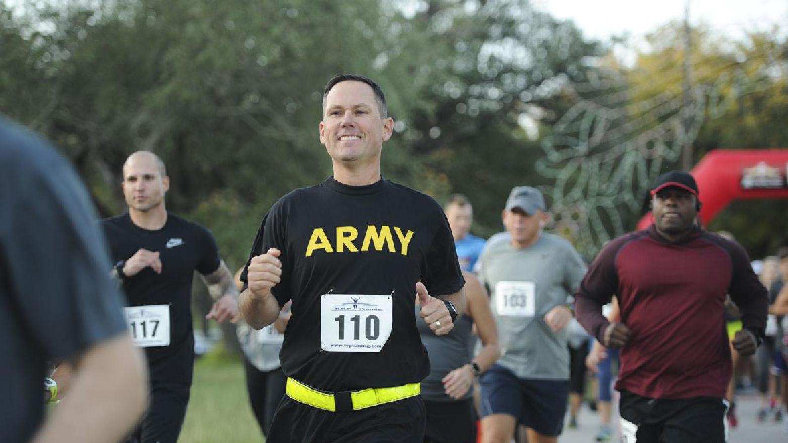 Army 10-miler Qualifier