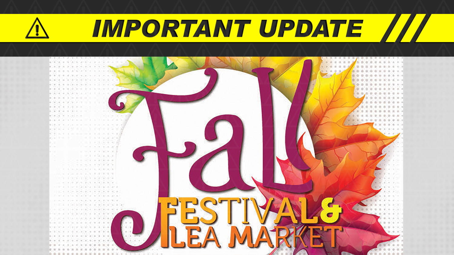 CANCELLED: Fall Festival