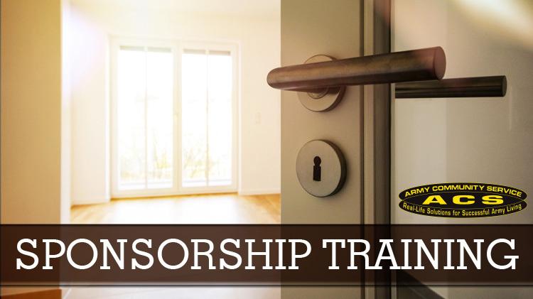 Sponsorship Training