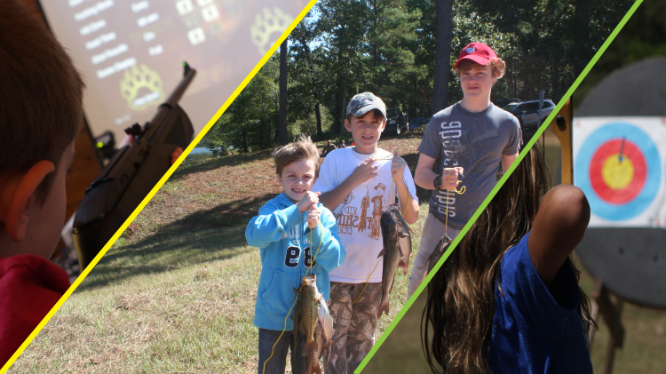 Kid's Fishing Derby & Shooting Day