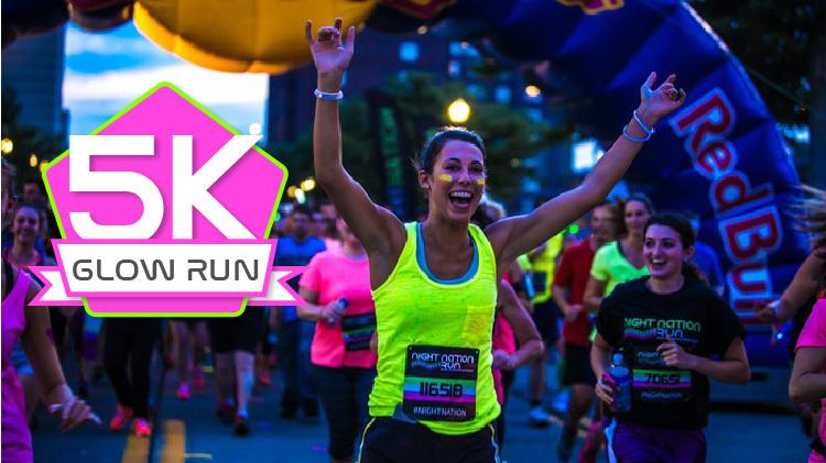 Glow Run 5k Run