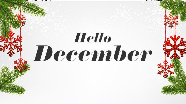 2018 December Programs