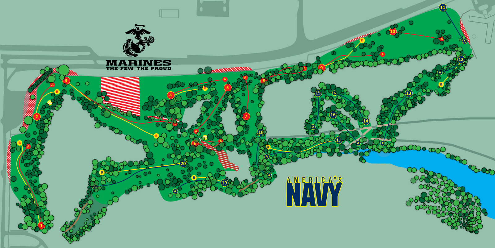 Fort-Gordon-Disc-Golf_Marine-Navy_short_map.jpg