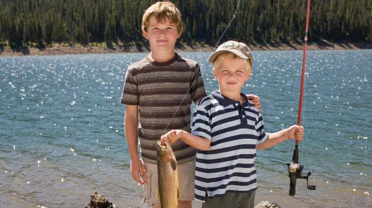 Boardman Lake Kids Fishing Derby