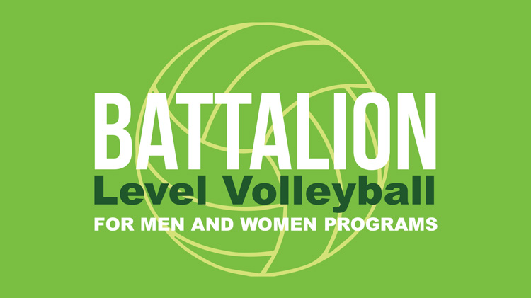 Registration: 2019 Battalion-Level Volleyball
