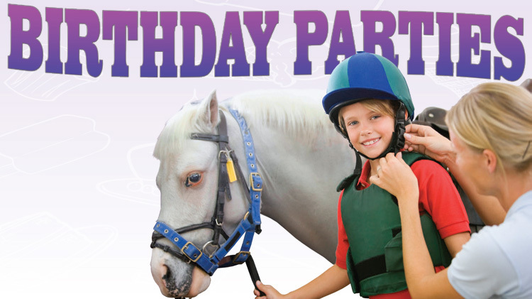 Hilltop Riding Stable Birthday Parties