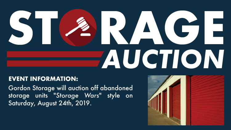 Gordon Storage Auction