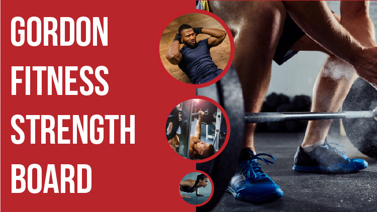 Gordon Fitness Strength Board