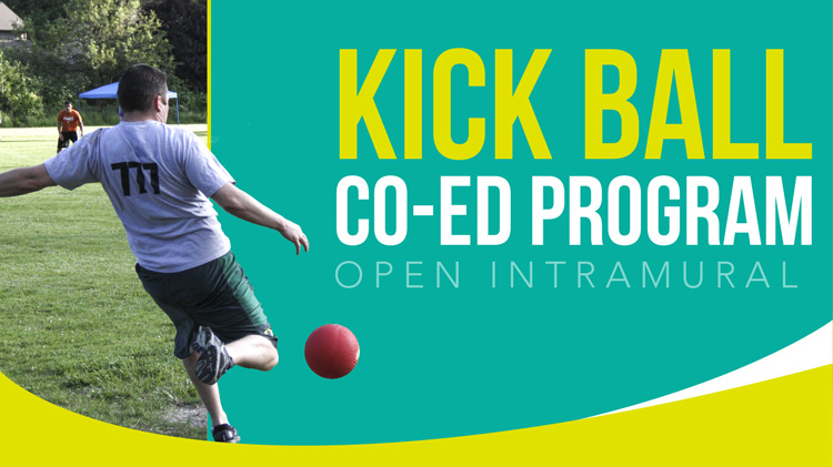 Registration: 2019 Co-Ed Open Intramural Kickball