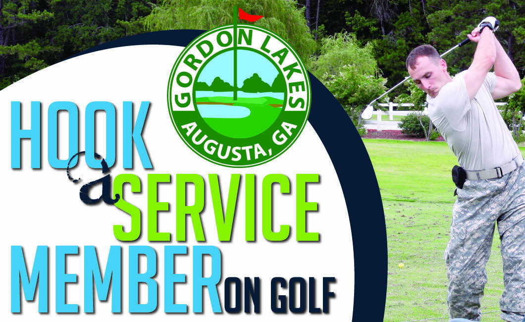 Hook a Service Member on Golf