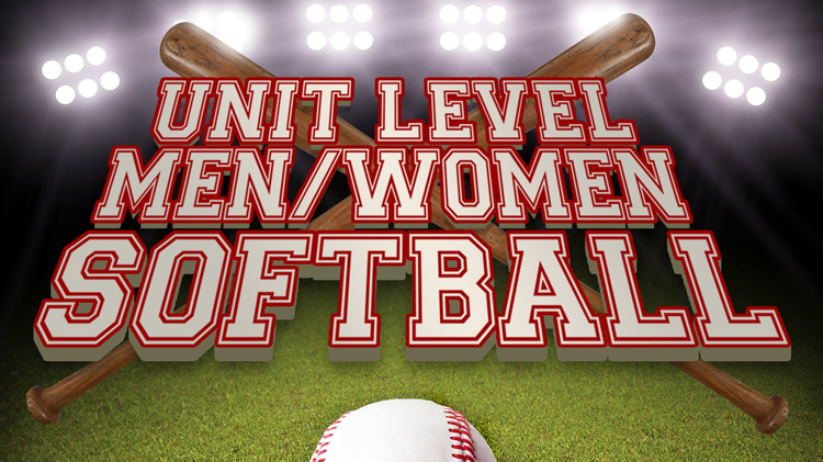 Registration: 2019 Unit-Level Softball