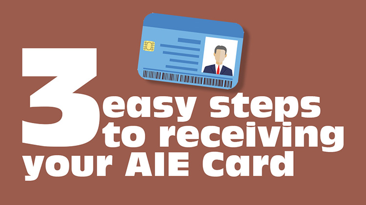 Automated Installation Entry (AIE) Card