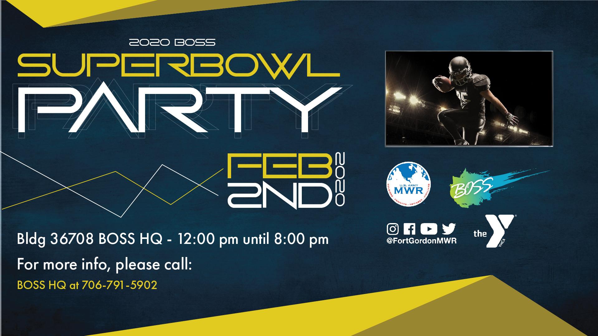 2020 BOSS Super Bowl Party