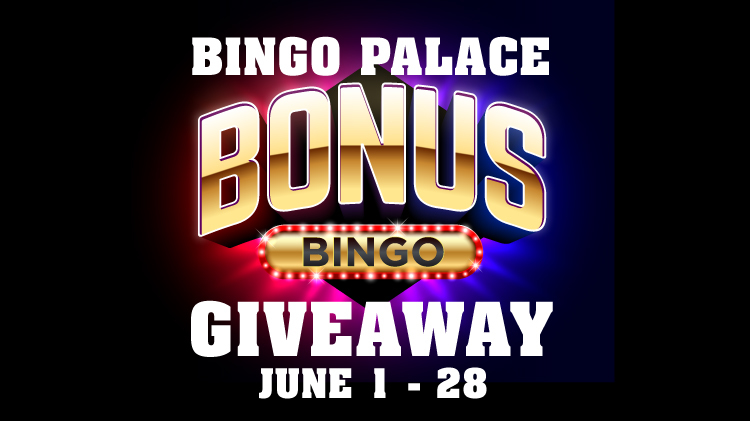 June Bingo Palace Bonus Computer Giveaway